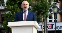 Ulaştırma ve Altyapı Bakanı Adil Karaismailoğlu Tokat'ta incelemelerde bulundu
