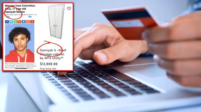 ABD'li e-ticaret sitesinde, ilanlara kripto kodlar ekleyerek kayıp çocukları on binlerce dolara satıyorlar