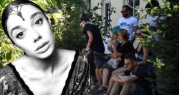 Adli Tıp Kurumu önünde Pınar Gültekin'in ailesinin acı bekleyişi