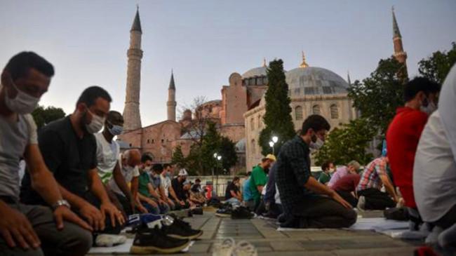Ayasofya'nın cami olması Trump'ın rakibi Joe Biden'ı da rahatsız etti: Erdoğan kararından dönmeli