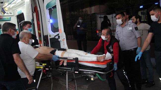 Azez'deki korkunç patlamada yaralanan 15 kişi Kilis'e getirildi