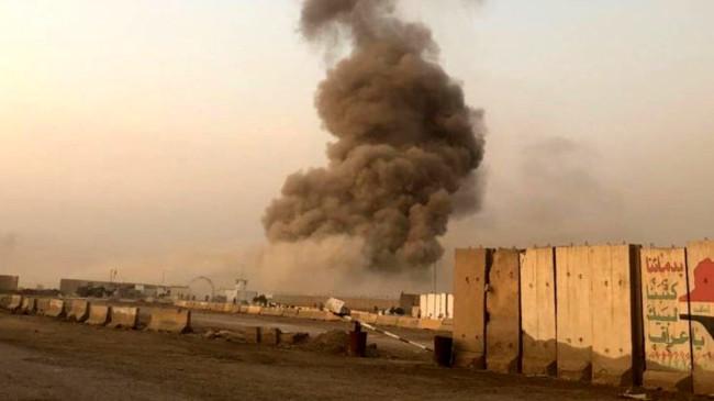 Bağdat'taki Sakar Askeri Üssü'nde peş peşe patlamalar meydana geldi