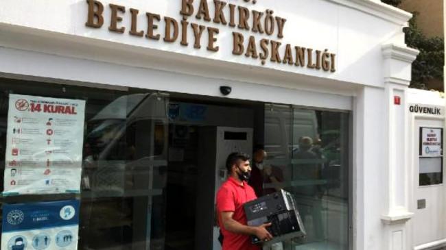 Bakırköy Belediyesi'ne 2004 yılından kalma borcundan dolayı haciz geldi