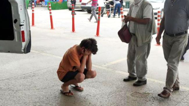 Dedesini balkondan düşerken gören torunu gözyaşlarına boğuldu