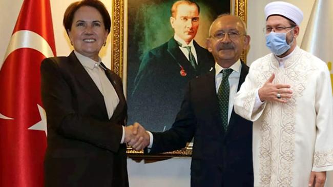 Diyanet İşleri Başkanı, Kılıçdaroğlu ve Akşener'i Ayasofya'ya davet etti