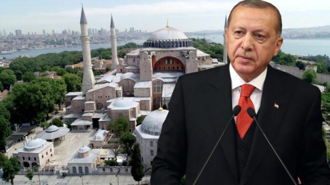 Erdoğan, 'Ayasofya açıldı, erken seçim var' tartışmalarına noktayı koydu