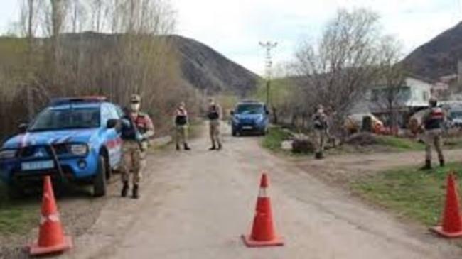 Gaziantep'de 13 ev karantinaya alındı