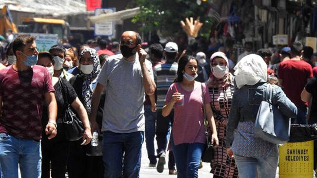 Gaziantep'te koronavirüs vakalarındaki artış tehlikeli boyuta ulaştı