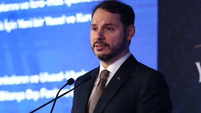Hazine ve Maliye Bakanı Berat Albayrak'tan Süleyman Soylu'ya başsağlığı mesajı