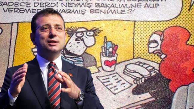 İmamoğlu, eleştirilere paylaştığı karikatürle yanıt verdi: Kurban oliyim, hiç haberim yok