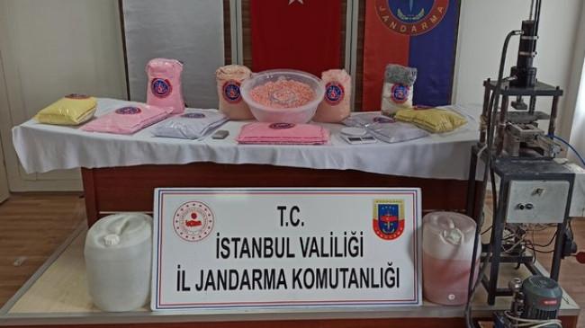 İstanbul Jandarması'ndan müthiş operasyon