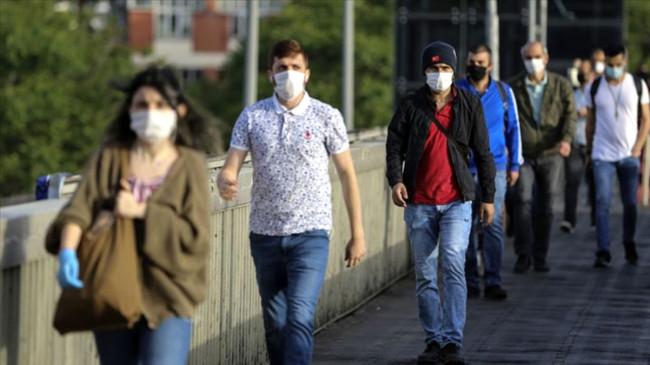 Kırıkkale'de koronavirüs tedbirleri kapsamında maske zorunluluğu getirildi
