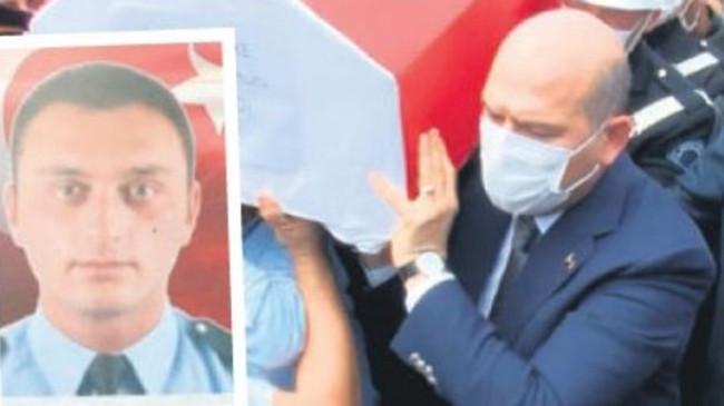 Şehit polis memuru uğurlandı