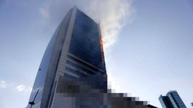 Son Dakika: Ankara'daki plaza yangını kontrol altına alındı