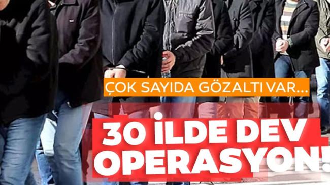 Son dakika: FETÖ'nün KPSS kumpası ile ilgili 30 ilde dev operasyon! Çok sayıda gözaltı var…
