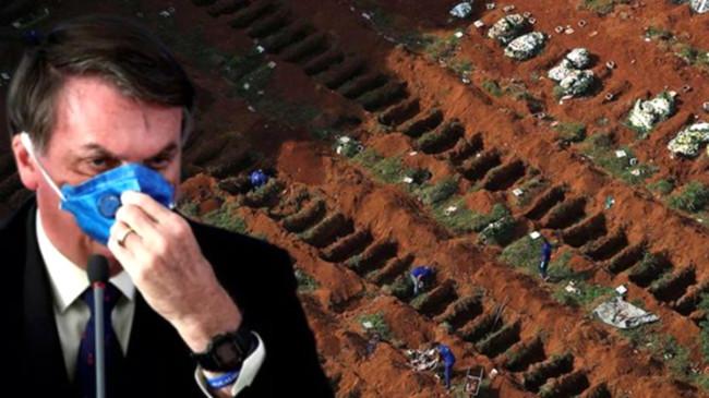 Son dakika: Koronavirüsü küçümseyen Brezilya Devlet Başkanı'na koronavirüs bulaştı