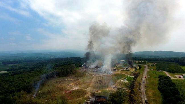 Son dakika: Sakarya'daki havai fişek fabrikasındaki patlamada saldırı ve sabotaj izine rastlanmadı