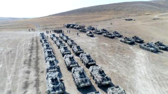 Türkiye-Azerbaycan ortak tatbikatından Ermenistan'ı korkutacak kareler