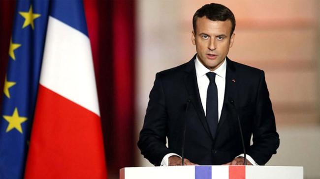 'Türkiye'nin yaptıkları cezasız kalmayacak' diyen Macron'a AK Parti'den sert tepki: Yanlış yerde duruyor