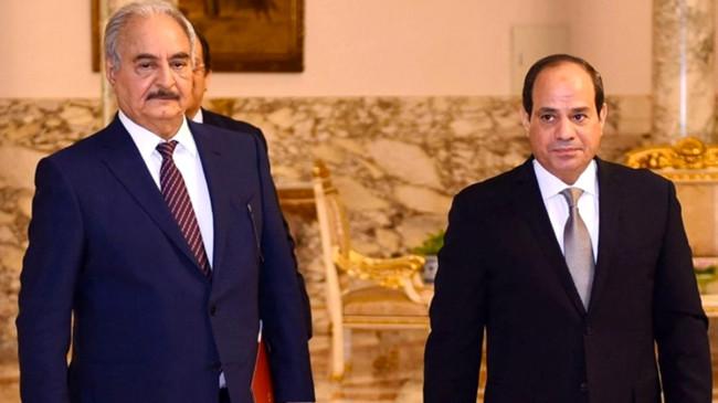 Türkiye'ye karşı birleştiler! Hafter ve kabile liderleri, Mısır ordusunun Libya'ya girmesine izin verdi
