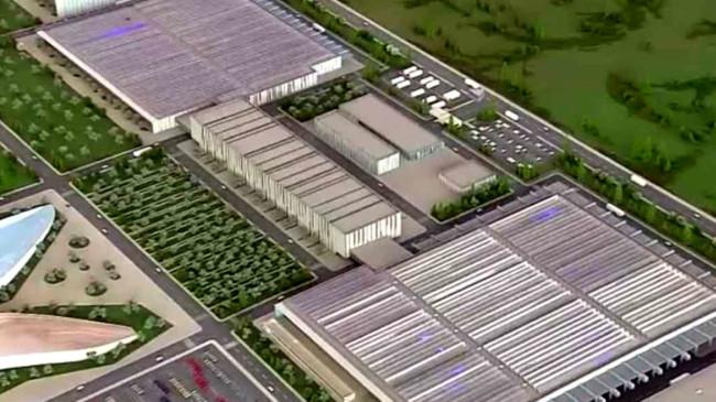 Yerli otomobilin fabrikası böyle olacak!  İşte dev tesisin müthiş özellikleri