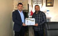 Kozluk'lu İş Adamı Ahmet Işık'a Teşekkür