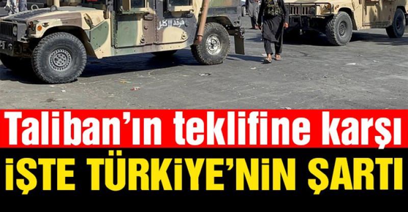 Türk yetkililer şartı Reuters'a açıkladı