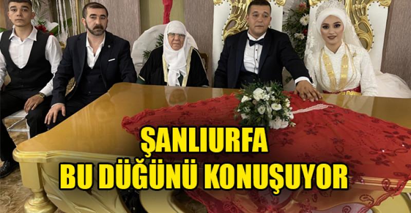 Şanlıurfa'nın Tanınmış Aileleri Karadağ ve Karataş ailelerinin mutlu günü